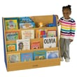 ECR4Kids® Colorful Essentials Big Book Display Stand, Blue