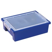 ECR4Kids® Small Storage Bin With Lid, Blue