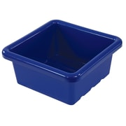 Square Tray without Lid - Blue