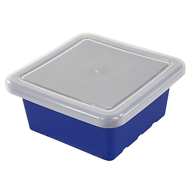 ECR4®Kids Square Storage Trays With Lid