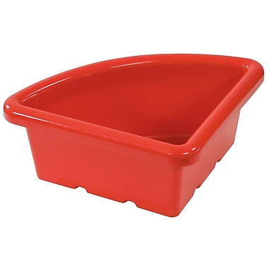 Quarter Circle Tray without Lid - Red