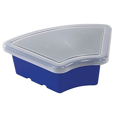 Fan Tray with Lid - Blue