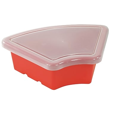 Fan Tray with Lid - Red