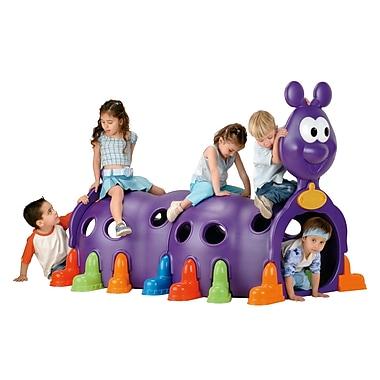 ECR4Kids® Peek-A-Boo Caterpillar Climbing Structure, Purple