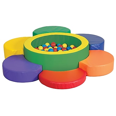 ECR4Kids® Softzone® Petal Climber With Ball Pool