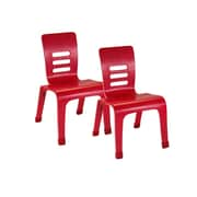 ECR4Kids® 8(H) Bentwood Chair, Red, 2/Pack