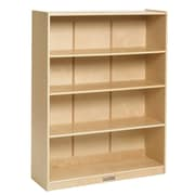 "ECR4Kids® 48"" Classic Birch Bookcase, Natural"