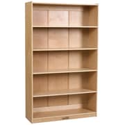 "ECR4Kids® 60"" Classic Birch Bookcase, Natural"