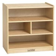 ECR4Kids® Small Block Storage Cart, Natural