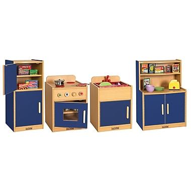 ECR4®Kids 4 Piece Colorful Essentials Play Kitchen Set