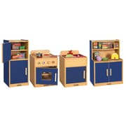 ECR4®Kids 4 Piece Colorful Essentials Play Kitchen Set