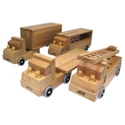 ECR4Kids® Transportation Vehicles, 4 Trucks/Set
