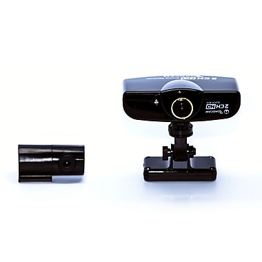 K-Hit® RoadCam T-3000 2 Channel HD Recorder, Black