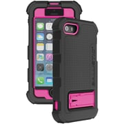 Ballistic® Hard Core® Series Polycarbonate Case For iPhone 5/5s, Black/Pink