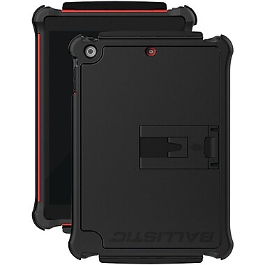 Ballistic® Tough Jacket Series Case For iPad Air, Black/Red