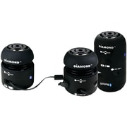 Diamond 4 W Mini Rocker Portable Speaker, Black