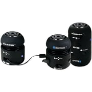 Diamond 4 W Mini Rocker Bluetooth Speaker, Black
