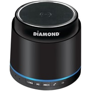 Diamond 2.5 W Mini Rockers Bluetooth Mobile Speaker, Black