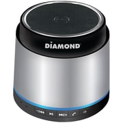Diamond 2.5 W Mini Rockers Bluetooth Mobile Speaker, Silver