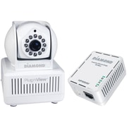 Diamond Plug N View Remote Home Monitoring Internet Security Camera Kit With Night Vision