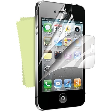 iSound® Three-Layers-In-1 Multi-Shield PET Screen Protector For iPhone4/4S, Clear