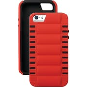 iSound® Smart Shield™ Polycarbonate/Silicone 3-in-1 Shock Resistant Case For iPhone5/5s, Red/Black