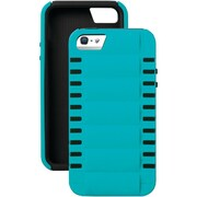 iSound® Smart Shield™ Polycarbonate/Silicone 3-in-1 Shock Resistant Case For iPhone5/5s, Blue/Black
