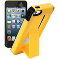 iSound® DuraView Polycarbonate/Silicone 2-in-1 Protective Case For iPhone5/5s, Yellow