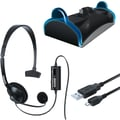 DreamGEAR® DGPS4-6411 Charge and Chat Bundle For Playstation®4