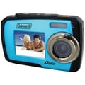 Coleman® Duo 2V7WP Dual Screen Waterproof Camera, Blue