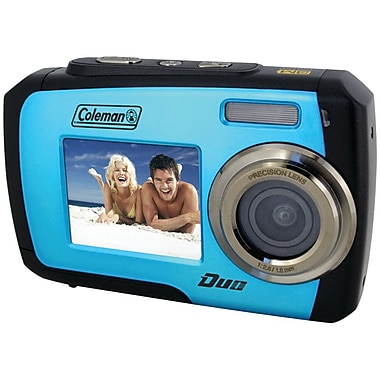 Coleman® Duo 2V7WP Dual Screen Waterproof Cameras
