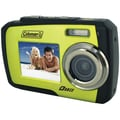 Coleman® Duo 2V7WP Dual Screen Waterproof Camera, Green