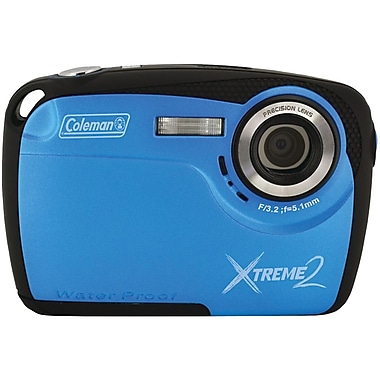 Coleman® Xtreme2 16 MP Underwater Digital Camera, Blue