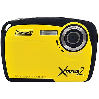 Coleman® Xtreme2 16 MP Underwater Digital Camera, Yellow