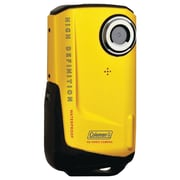 Coleman® Full HD Xtreme Waterproof Camcorder, 2 1/2 x 1/2 x 4 1/2, Yellow
