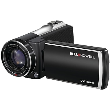 Bell & Howell Full HD Cinema Digital Camcorder, 2.2in. x 2.2in. x 5in., Black