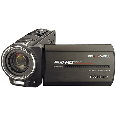 Bell & Howell Full HD Showtime Digital Camcorder, 2.2in. x 2.1in. x 4.5in., Black