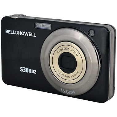Bell & Howell S30HDZ 15 MP Slim Digital Cameras With 5x Optical Zoom