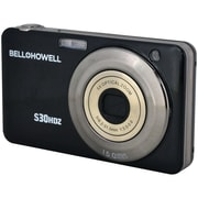 Bell & Howell S30HDZ 15 MP Slim Digital Camera With 5x Optical Zoom, Black