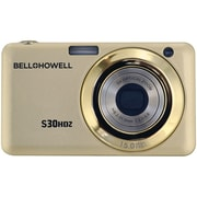 Bell & Howell S30HDZ 15 MP Slim Digital Camera With 5x Optical Zoom, Champagne