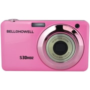 Bell & Howell S30HDZ 15 MP Slim Digital Camera With 5x Optical Zoom, Pink