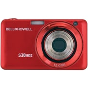 Bell & Howell S30HDZ 15 MP Slim Digital Camera With 5x Optical Zoom, Red