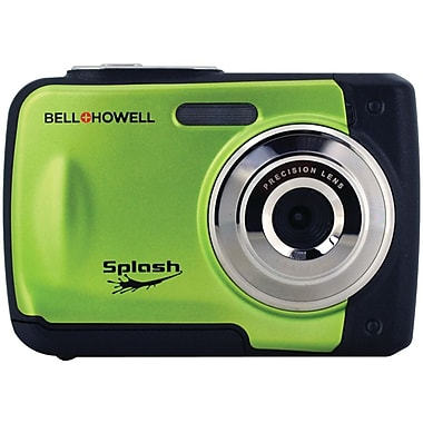 Bell & Howell WP10 Splash 12 MP Waterproof Digital Camera, Green