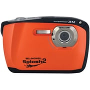 Bell & Howell WP16 Splash2 16 MP Waterproof Digital Camera, Orange
