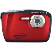 Bell & Howell WP16 Splash2 16 MP Waterproof Digital Camera, Red