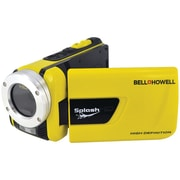 "Bell & Howell SplashHD Underwater Digital Video Camcorder, 2 1/2"" x 2"" x 4 1/2"", Yellow"