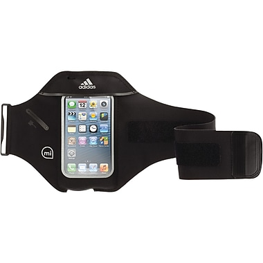 Griffin Adidas Micoach Nylon Armband For iPhone 5/5s/iPhone 5c & iPod Touch (5th gen), Black