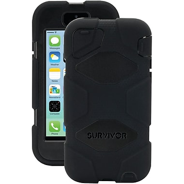Griffin Survivor Polycarbonate/Silicone Cases With Belt Clip For iPhone 5c