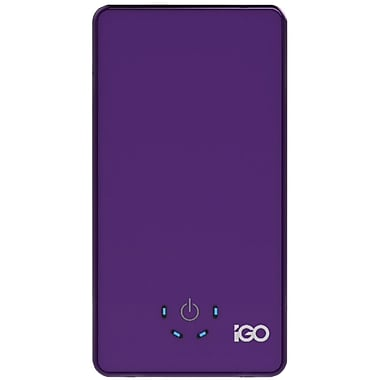 Igo™ Power Trip 4700 mAh Lithium Polymer Portable Battery, Purple
