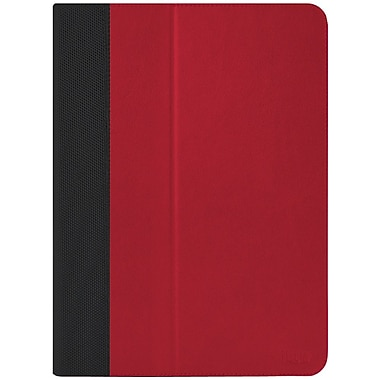 iLuv® Simple Folio Case and Stand For iPad Air, Red